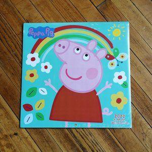 """Peppa Pig 16 Month 2022 Wall Calendar 10""""X10"""""""
